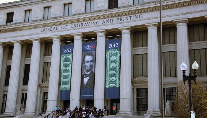 Sede actual de la Oficina de Grabado e Impresión de EEUU, en Washington D. C.