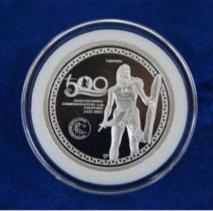 Medalla conmemorativa del 500 aniversario de la Batalla de Mactan
