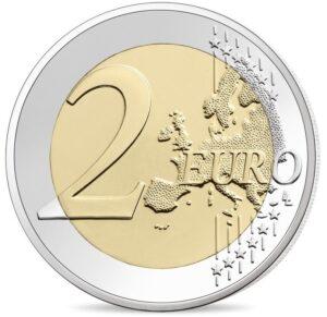 Reverso común de las monedas de dos euros