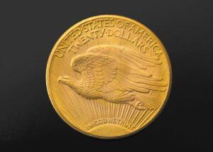 Reverso del Double Eagle de 1933