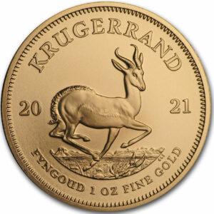 Reverso Krugerrand oro