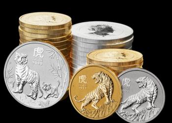 Bullion Año Lunar del Tigre 2022, de la Perth Mint